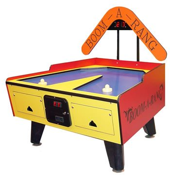 Great American Boom-A-Rang Coin-Operated Air Hockey Table