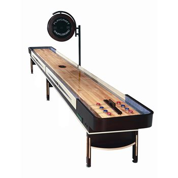 Playcraft TELLURIDE Shuffleboard Table - 12 foot - Espresso Finish
