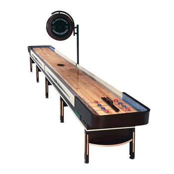 Playcraft TELLURIDE Shuffleboard Table - 18 foot - Espresso Finish