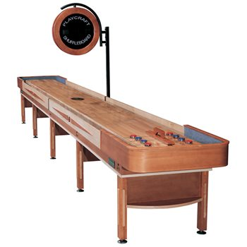 Playcraft TELLURIDE Shuffleboard Table - 18 foot - Honey Finish