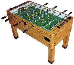 Good Berner Premium Foosball Table   Butcher Block  3 Man Goalie