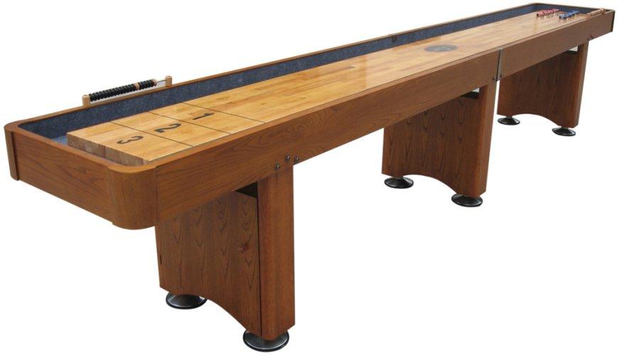 Playcraft Industries Playcraft GEORGETOWN Shuffleboard Table - Playcraft georgetown shuffleboard table