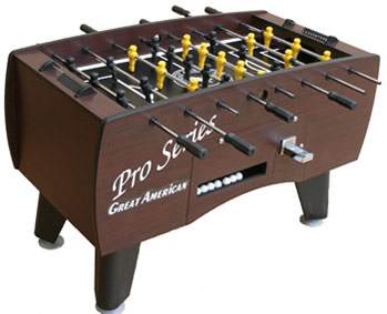 Great American Great American Pro Series CoinOperated Foosball - Where to buy foosball table