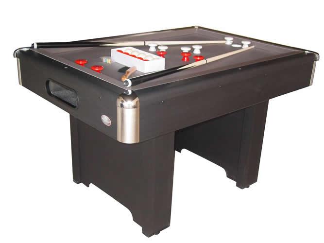 Playcraft Industries Playcraft Hartford Slate Bumper Pool Table - Genuine slate playfield pool table